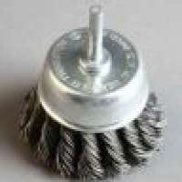 Twist Knot Shaft Mounted Cup brushes Manufacturer