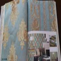 Nonwoven wallpaper by rotary screen printing Manufacturer