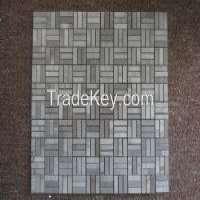 strip grey marble stone mosaic tile Manufacturer