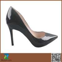 High heel pu leather dress women footwear Manufacturer