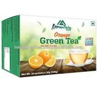 Natural Orange Green Tea Suagar Manufacturer