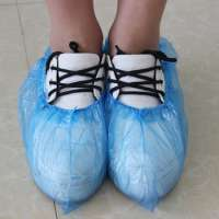 normal disposable hdpe shoe cover in blue shoe covers Manufacturer