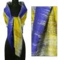 Silk shawl &039shimmering blue chic&039 Manufacturer