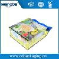 Clear flat bottom zipper food packaging bag quad seal pouch flour packaging bag Manufacturer