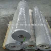 Pure PE packaging plastic wrapping film on roll