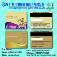 Plastic VIP gold and Silver Membership Card Manufacturer