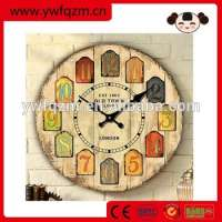 Handmade Wooden Crafts Wall Clock Manufacturer