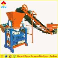 concrete simple interlocking block making machine Manufacturer