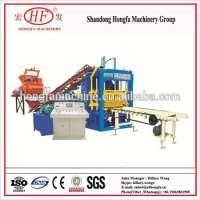 Multi-function hollow interlock block making machine