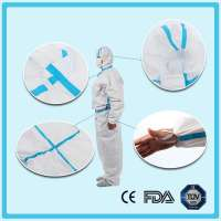 Disposable nonwoven Anti Virus coverall Manufacturer