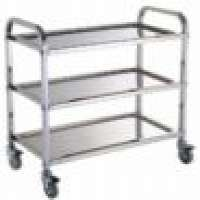 stainless steel detachable three layers food service carts Manufacturer