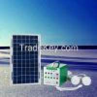 Portable solar home lighting system indoor and outdoor 3w led light and mobile charger Manufacturer