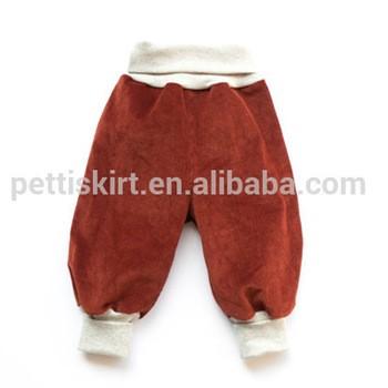 c2b4e77be Toddler unisex panties boys pants jeans corduroy kids harem pants