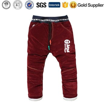 6ee54239c4 Toddler Baby Casual Corduroy Trousers kids pants