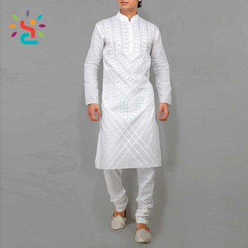 2028d287d3d58 Arrival Mens Cotton Short Kurtas white pathani kurta pajama designs