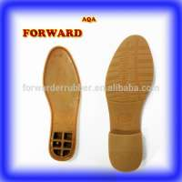 Beige shoe sole fabric PVC shoe soles gent Manufacturer