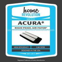 Acura Cabin Rigid Air Panel Comparable Filter A Home Revolution  Manufacturer