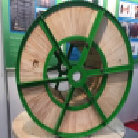 wooden & steel cable drum hybrid cable drum cable reel cable spool Manufacturer
