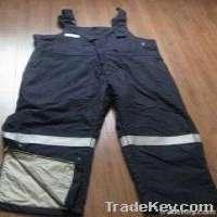Flameretardant suspender trousers Manufacturer